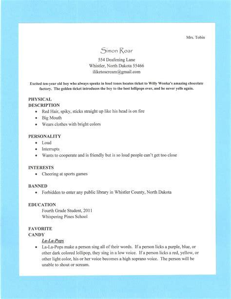 Characteristics of a good resume jpg 2550x3300